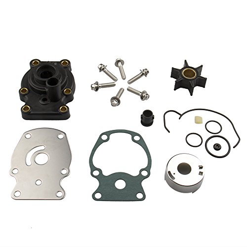 Big-Autoparts Water Pump Impeller Kit Johnson Evinrude (20 25 30 35 HP) 18-3382 393630 Evinrude Water Pump Replacement