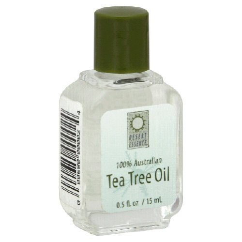 DESERT ESSENCE TEA TREE OIL,100% PURE, .5 FZ