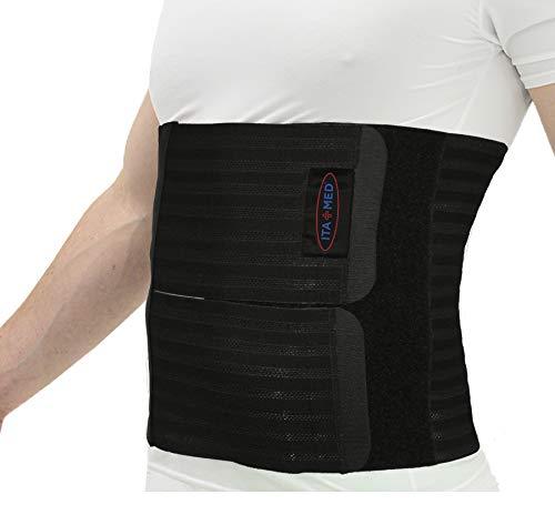 Amazon Com Ita Med Unisex Elastic Abdominal Binder 9: ITA-MED Men's Breathable Elastic Postsurgical Recovery