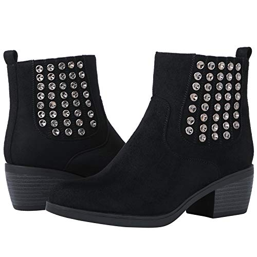 GLOBALWIN Women's 18YY08 Black Fashion Boots