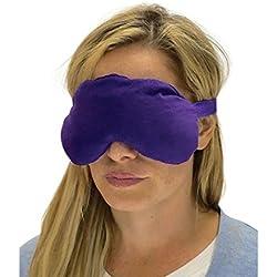 Sensacare Hot & Cold Natural Therapy Lavender Eye Mask, Purple, 0.4 Pound