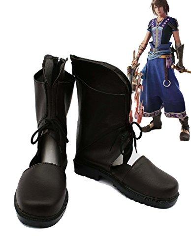 Final Fantasy Xiii Ff13-2 Noel Scarpe Cosplay Stivali Su Misura