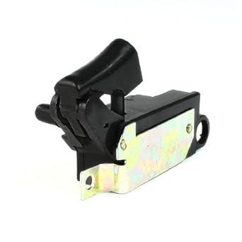 eDealMax AC 250V 6 Amp DPST cerradura en gatillo del interruptor ...