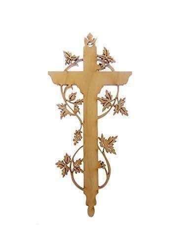 Amazon.com: Custom Cross Ornament - Religious Christmas ...