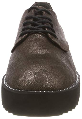 Oxfords Antic 23734 Tamaris Women's Pewter Brown 21 937 U8xtAxq