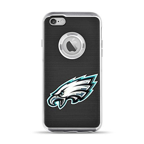 MIZCO SPORTS NFL-FX6-EGLS iPhone 6/6S Flex Sideline Case for NFL Philadelphia Eagles