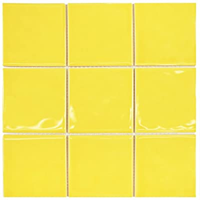 SomerTile Torsio Square Ceramic Wall Tile