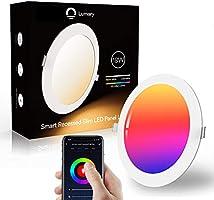 Lumary LED Einbaustrahler LED Deckenstrahler Deckenspots Deckenleuchte, 16 Millionen Farben Dimmbar Weiß(2700K-6000K) LED...
