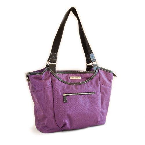Clark & Mayfield Bellevue Laptop Handbag 18.4'' (Purple) by Clark & Mayfield