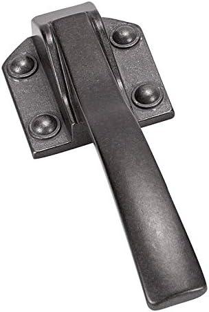 Poignee decorative Fer noir vieilli D/écor FOSUN