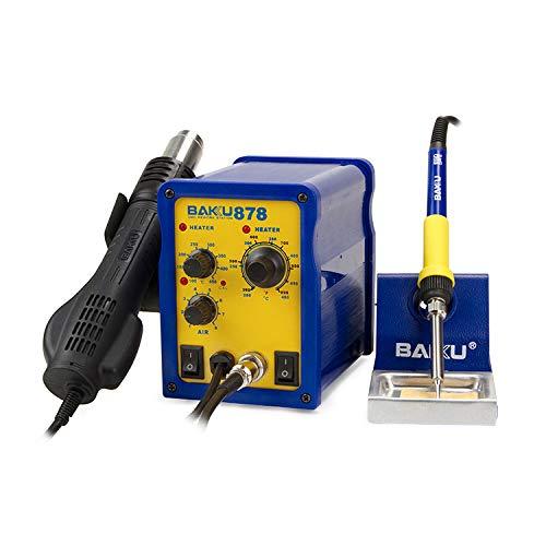 Estación BK-878 de Soldadura 400W y Mantenimiento 150-480°C Pistola de Aire: Amazon.es: Electrónica