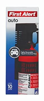 First Alert Auto Fire Extinguisher 2 Lb. Ul Rating 5 Bc
