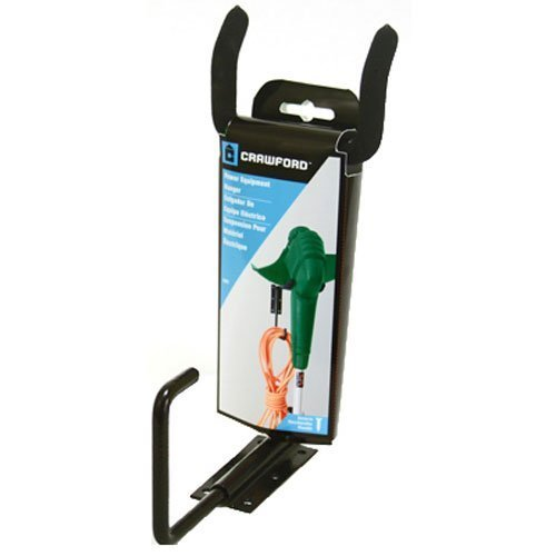 Tool Crawford Organizer - Crawford CMPE-6 Medium Duty Garden Power Tool Hanger, Black
