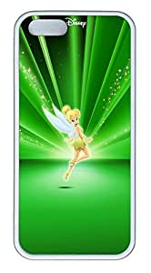 iPhone 5 5S Case Green Flower Fairy TPU Custom iPhone 5 5S Case Cover White by Maris's Diary
