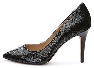 Amazon Brand - The Fix Women's Regina Pointed-Toe Sequin Dress Pump