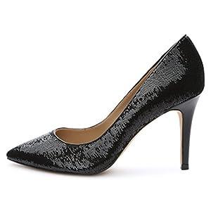 Amazon Brand – The Fix Women's Regina Pointed-Toe Sequin Dress Pump