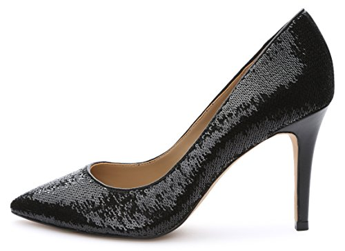 Image of The Fix Women's Regina Pointed-Toe Sequin Dress Pump