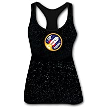 RETHYJU up Yours Women's Summer Casual Vest Workout T Shirt Sleeveless - Racerback Tank Tops for Womens