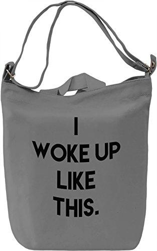 Like this. Borsa Giornaliera Canvas Canvas Day Bag| 100% Premium Cotton Canvas| DTG Printing|