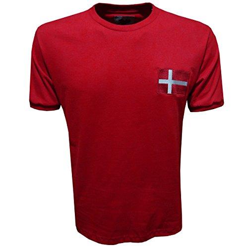 Jersey 1970 Retro (Retro League Denmark 1970 Shirt (Large))