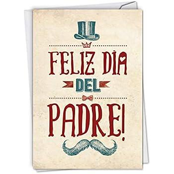 Amazon.com: Tarjeta de felicitación para el día del padre ...