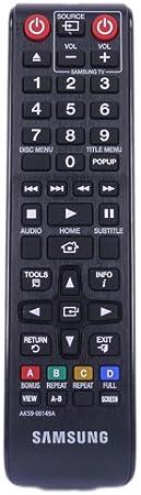 Control Remoto para Samsung BD-J5500 3D BLU-Ray & DVD Player: Amazon.es: Electrónica