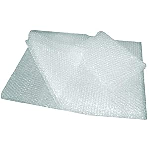 Inditradition Bubble Wrap – Air Cushion Packaging Material, 60 GSM Thickness, 1 Meter Wide, Transparent (5 Meter)
