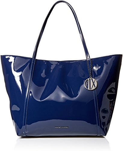 Color Main Shoulder Blue Exchange 9422680 Large 8p245 Bag Armani Women's Paint wz7qZwF8