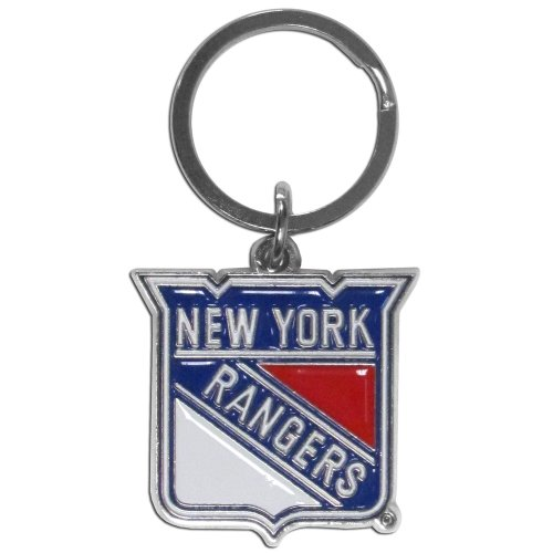 Siskiyou NHL New York Rangers Chrome and Enameled Key Chain