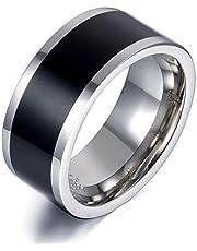 تقنية خاتم NFC من الفولاذ التيتانيوم مقاس 9 US