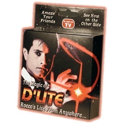 Price comparison product image D'lite - Authentic - Red Light Junior Size | a Magic Trick Anyone Can Do - The Greatest Thing to Hit the Magic Market Since Cups and Balls (Junior, Red)