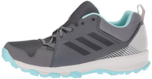 adidas outdoor Women's Terrex Tracerocker W Trail Running Shoe Grey Five/Chalk White/Easy Coral 6 M US by adidas outdoor (Image #5)