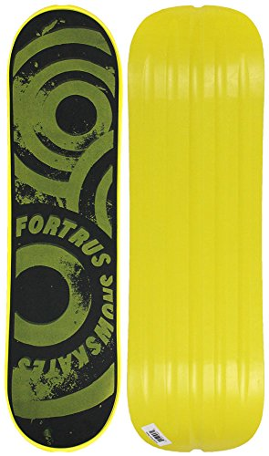 Fortrus Sonic Snow Skate Snowboard Deck, Yellow, 35'