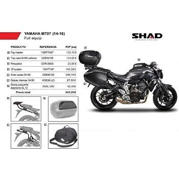 SHAD - KIT-SHAD-7/214 : Maletas laterales, baul, soportes