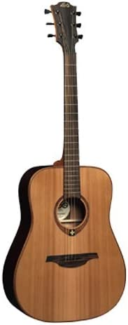 Lag T100D - Dreadnought guitarra acustica: Amazon.es: Instrumentos ...
