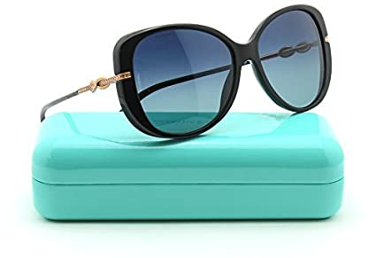 df68d85ada8 Image Unavailable. Image not available for. Color  Tiffany   Co. TF 4126B  Infinity Butterfly Women Polarized Sunglasses 80014U