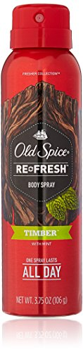 Price comparison product image Old Spice Re Fresh Body Spray - Fresher Collection 3.75 OZ (Pack of 2)