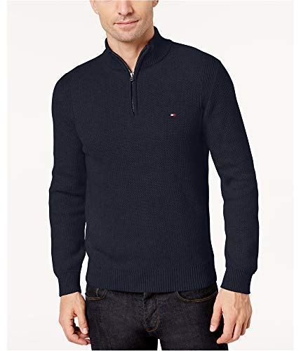 7f88d70c Tommy Hilfiger Mens Brioche Knit Textured Pullover Sweater | Weshop ...