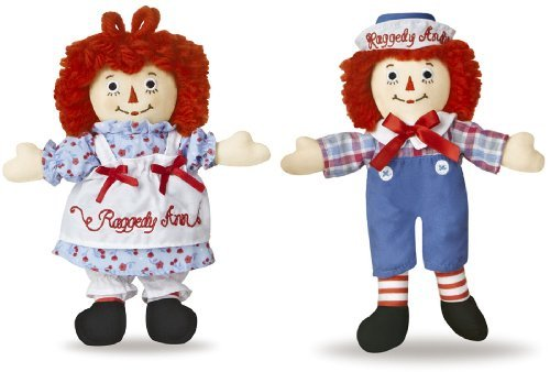 Aurora Raggedy Ann and Andy Doll Set