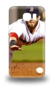 S6 Snap On Case Cover Skin For Galaxy S6 MLB Boston Red Sox Dustin Pedroia #15