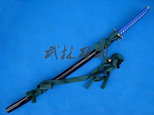"S1620 BLEACH HITSUGAYA TOSHIRO SHIROU CHAN HYOURINMARU SWORD W/ BELT NAVY 41"""