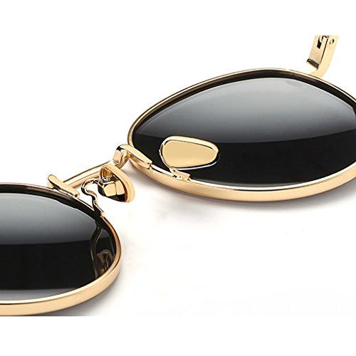 Aire Metallic polarizadas de Yxsd Gafas Hombre Deporte Ultra al Metal HD Lens Sol para SunglassesMAN Libre A Light Tamaño Gafas de Frame FCPxBxqZ