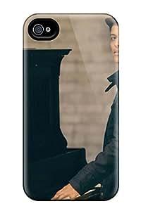Excellent Design Bruno Mars Wide Phone Case For Iphone 4/4s Premium Tpu Case