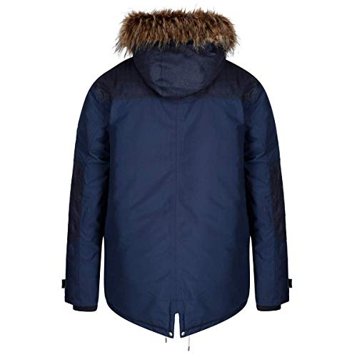Sherpa And Insulated Waterproof Breathable Giacca Aldrich Regatta Navy Uomo Thermoguard Hooded Lined Fur aY6xRqRWn