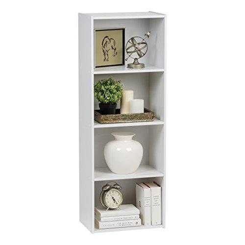 IRIS 4-Tier Wood Storage Shelf, ()