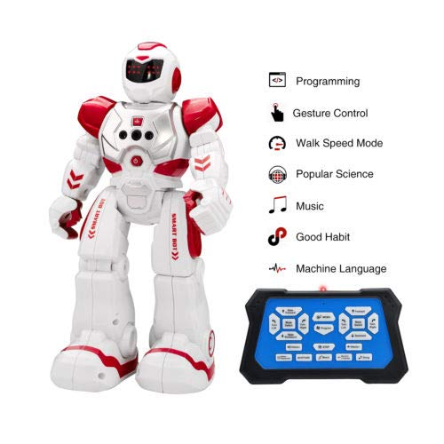 FidgetGear RC Remote Control Robot Smart Action Infra-red Allows Gesture Control Kids Toy