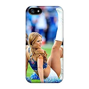 Defender Case With Nice Appearance (tennessee Titans Cheerleaders Nfl Teams) For Iphone 5/5s