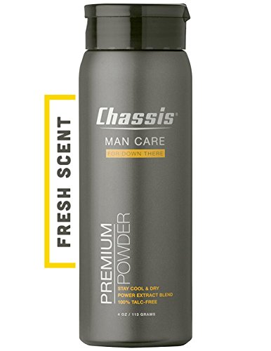 Jack Chassis - Chassis Premium Body Powder for Men, Original Fresh Scent