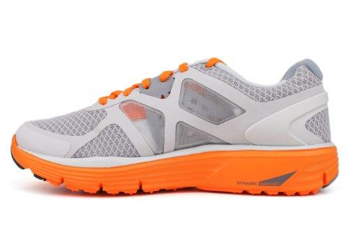 Nike Lunarglide 3 Stora Unge Gs Kör Wolf Grå Platina Orange Vit (gs) (5,5)