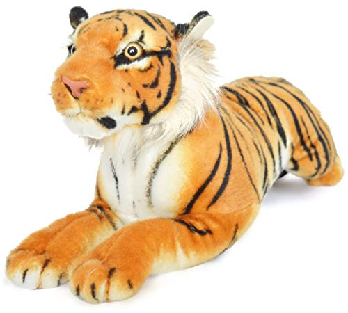 VIAHART Sandor The Sumatran Tiger | 19 Inch Large Sumatran Tiger Stuffed Animal Plush Cat | by Tiger Tale Toys ()